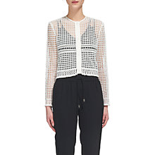 Buy Whistles Lace Up Button Jacket Online at johnlewis.com