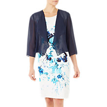 Buy Jacques Vert Chiffon Cover Up, Navy Online at johnlewis.com