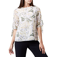 Buy Hobbs Virginia Top, Ivory Online at johnlewis.com
