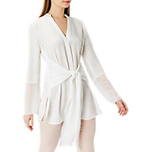 Buy Coast Cavendish Soft Blouse, Ivory Online at johnlewis.com