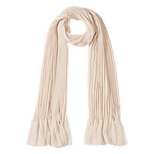 Buy Coast Niko Pleated Scarf Online at johnlewis.com