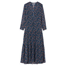 Buy Gerard Darel Floral Dress, Blue Online at johnlewis.com