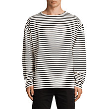 Buy AllSaints Ivan Long Sleeve Crew T-Shirt Online at johnlewis.com
