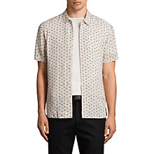Buy AllSaints New Romantic Short Sleeve Shirt Online at johnlewis.com