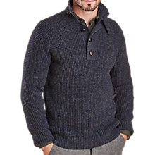 Buy Barbour Rossit Half Button Jumper Online at johnlewis.com