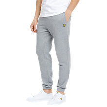 Buy Lyle & Scott Slim Fit Joggers, Mid Grey Marl Online at johnlewis.com