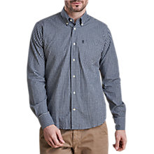 Buy Barbour Lifestyle Country Gingham Shirt, Midnight Blue Online at johnlewis.com