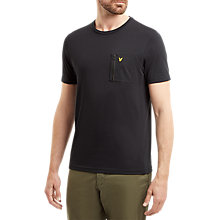 Buy Lyle & Scott Zip Pocket T-Shirt Online at johnlewis.com