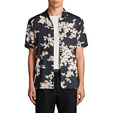Buy AllSaints Hanami Short Sleeve Shirt Online at johnlewis.com