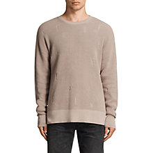 Buy AllSaints Forram Long Sleeve Crew Jumper Online at johnlewis.com