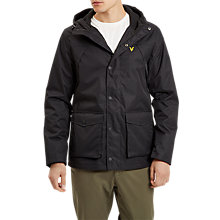 Buy Lyle & Scott Micro Fleece Lined Parka Online at johnlewis.com