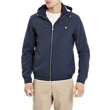 Buy Lyle & Scott Jersey Lined Soft Shell Jacket, Navy Online at johnlewis.com