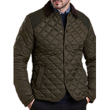 Buy Barbour Land Rover Defender Mulbarton Quilted Jacket Online at johnlewis.com