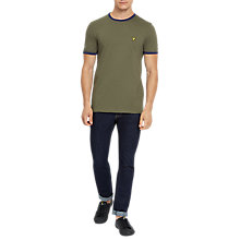 Buy Lyle & Scott Ringer T-Shirt Online at johnlewis.com