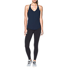 Buy Under Armour Flashy Racer Studio Tank Top, Navy Online at johnlewis.com