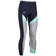 Buy Under Armour HeatGear Colour Blocked Ankle Crop Leggings Online at johnlewis.com
