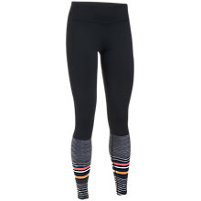 Buy Under Armour Mirror Striped Leggings, Black Online at johnlewis.com