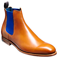 Buy Barker Hopper Leather Chelsea Boots, Cedar Online at johnlewis.com