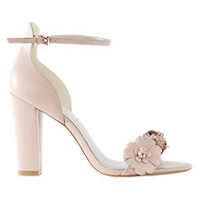Buy Karen Millen Atelier Botanical Sandals, Nude Online at johnlewis.com