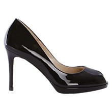 Buy Karen Millen Peep Toe Stiletto Sandals Online at johnlewis.com