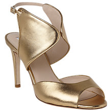 Buy L.K. Bennett Cecilia Formal Stiletto Heeled Sandals, Gold Online at johnlewis.com