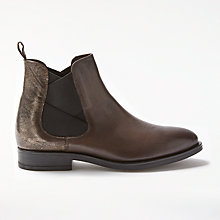 Buy Modern Rarity Osanna Chelsea Boots, Brown Leather Online at johnlewis.com