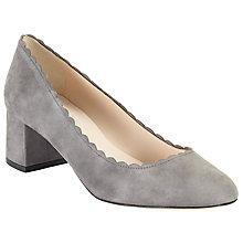 Buy John Lewis Ailsa Scalloped Block Heeled Court Shoes Online at johnlewis.com
