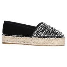 Buy KG by Kurt Geiger Misha Flatform Espadrilles Online at johnlewis.com