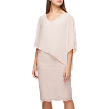 Buy Jacques Vert Lace and Chiffon Dress, Neutral Online at johnlewis.com