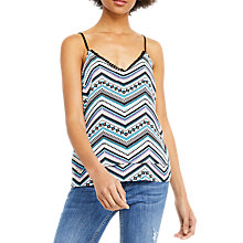 Buy Oasis Aztec Print Cami, Multi Online at johnlewis.com