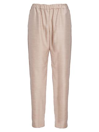 French Connection Ava Suiting Trousers, Oatmeal Melange
