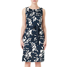 Buy Precis Petite Clip Spot Dress, Navy Online at johnlewis.com