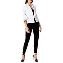 Buy Coast Alba Tux Jacket, Ivory Online at johnlewis.com