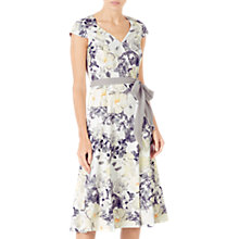 Buy Jacques Vert Printed Soft Wrap Dress Online at johnlewis.com