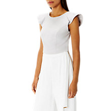 Buy Coast May Frill Sleeve Top Online at johnlewis.com