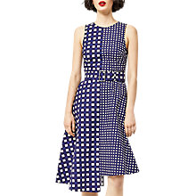 Buy Warehouse Gingham Dress, Multi Online at johnlewis.com