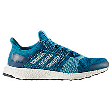 Buy Adidas UltraBOOST ST Men's Running Shoes, Blue Night/Mystery Petrol Online at johnlewis.com