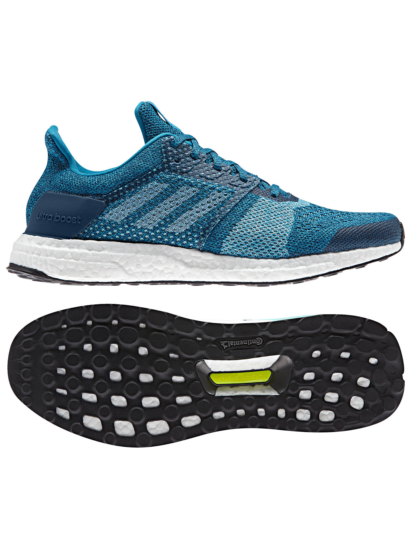 adidas UltraBOOST ST Men's Running Shoes, Blue NightMystery