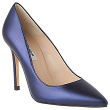 Buy L.K. Bennett Fern Pointed Toe Leather Court Shoes Online at johnlewis.com