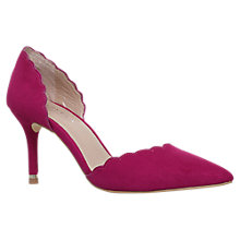 Buy Carvela Lovely Stiletto Heeled Court Shoes, Pink Online at johnlewis.com