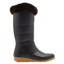 Buy Joules Downton Tall Padded Wellington Boots, Grey Online at johnlewis.com