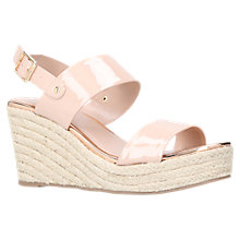 Buy Carvela Bliss Patent Wedge Sandals Online at johnlewis.com
