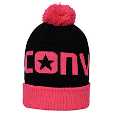 Buy Converse Children's Beanie Hat, Pink Online at johnlewis.com