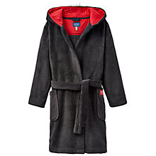 Buy Little Joule Children's Junior Lupo Wolf Dressing Gown, Multi Online at johnlewis.com