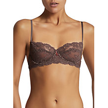 Buy Elle Macpherson Body Zest Lace Balcony Bra, Sparrow Online at johnlewis.com