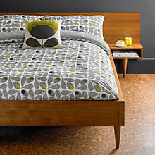 Buy Orla Kiely Acorn Cup Cotton Bedding Online at johnlewis.com