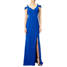 Buy Adrianna Papell Modified Jersey Mermaid Gown, Royal Blue Online at johnlewis.com