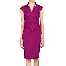 Buy Jolie Moi V-Neck Ruched Shift Dress Online at johnlewis.com