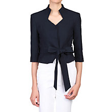 Buy Jolie Moi High Collar Belted Blazer Online at johnlewis.com