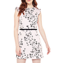 Buy Miss Selfridge Floral Print Dress, Pink Online at johnlewis.com